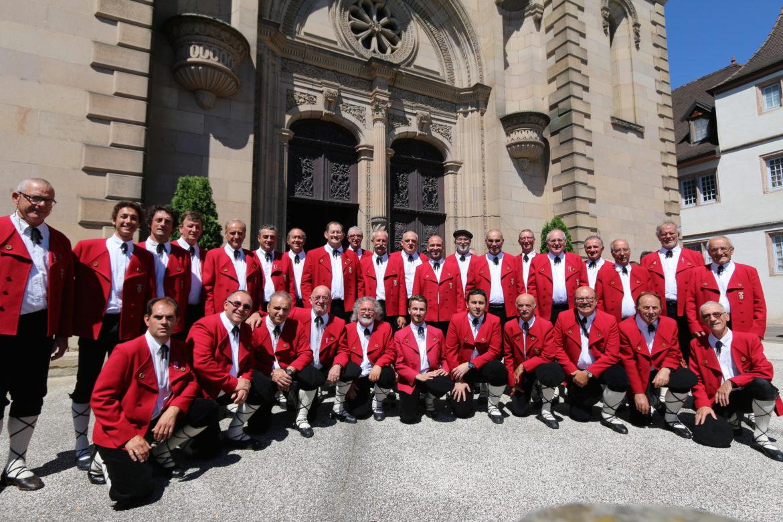 Chanteurs pyrénéens et basques réunis