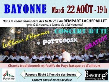 (Français)  Le  Chœur  POTTOROAK  au  Rempart  Lachepaillet