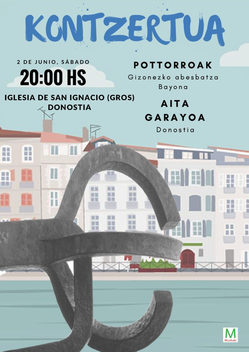 POTTOROAK chante à DONOSTIA le 2 juin 2018